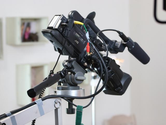 動画を撮影する機械