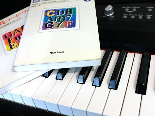 ミュージックコンポーザーのピアノ