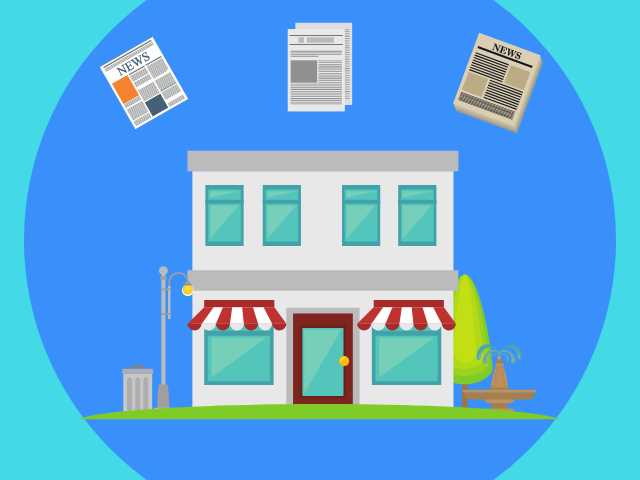 ブログはお店。記事は商品をイメージする。