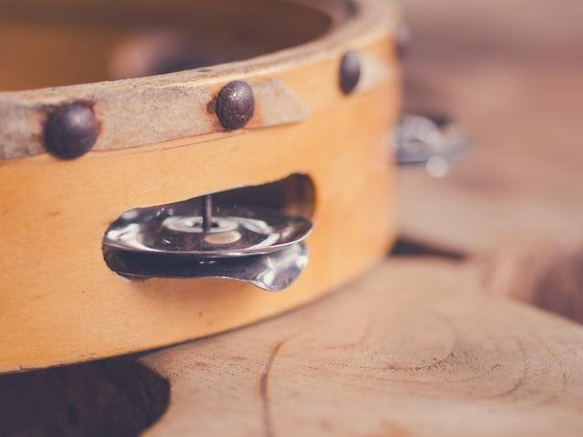 例えばタンバリンは難易度1の楽器
