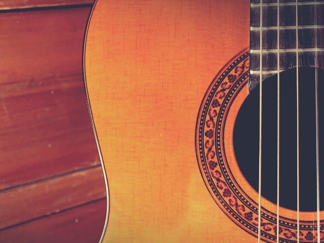 職人が作ったギター