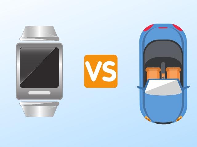 腕時計と車の価値について