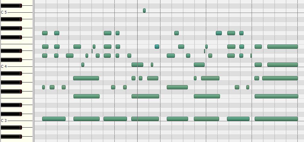 ペダルポイントコード進行のパターン