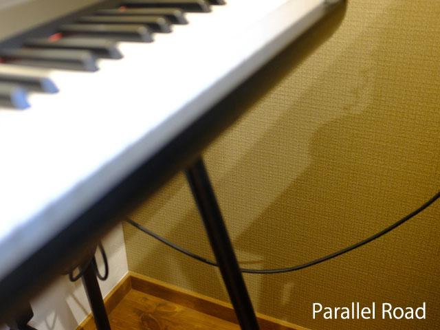 電子ピアノの配線