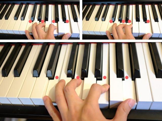 ピアノでⅡ-Ⅴ-Ⅰ