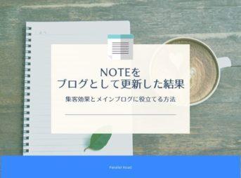 noteをブログとして更新