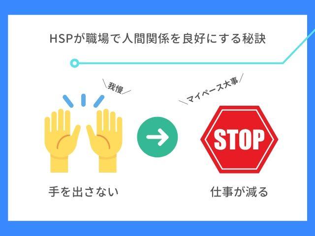 HSPが職場で人間関係を良好にする秘訣