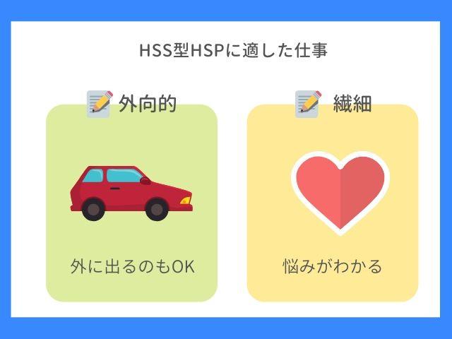 HSS型HSPに適した仕事について